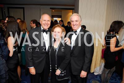 Joseph Del Rosa,Delores Del Rosa,John Scarpa,October 29,2011,NIAF Gala VIP Reception,Kyle Samperton