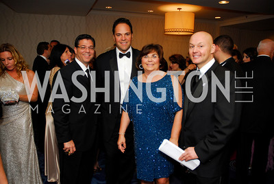 Nick Caiazzo,Mike Piazza,Susan Paolercio,John Marino,October 29,2011,NIAF Gala VIP Reception,Kyle Samperton
