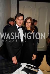Francesco Cascio,Narzia DeGiagno,October 29,2011,NIAF Gala VIP Reception,Kyle Samperton