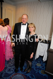 John Doman,Linda Doman,October 29,2011,NIAF Gala VIP Reception,Kyle Samperton