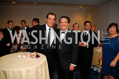 Robert Davi,Avery Friedman,October 29,2011,NIAF Gala VIP Reception,Kyle Samperton