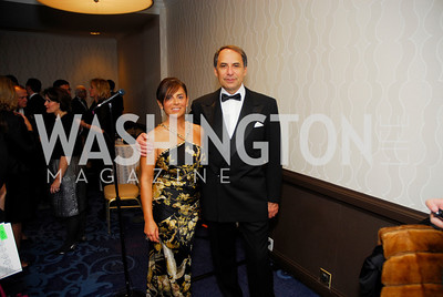 Enza Mancusa,Bruno Mancusa,October 29,2011,NIAF Gala VIP Reception,Kyle Samperton