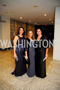 Manuela Giordano,Nancy D'Ammassa,Donatella Verrone,October 29,2011,NIAF Gala VIP Reception,Kyle Samperton
