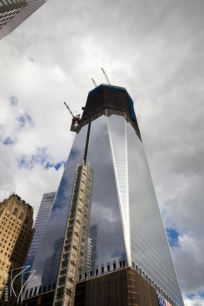 1 World Trade Center, as of 10/2/2011.