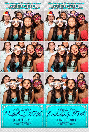 Natalia's 15th Birthday Party - Photo Booth Pictures