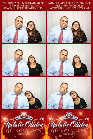 Natalie's Quinceanera-Photo Booth Pictures