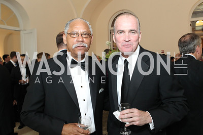 James Tolbert, Bob Murphy. Photo by Alfredo Flores. National Building Museum's Honor Award Gala. National Building Museum. May 17, 2011