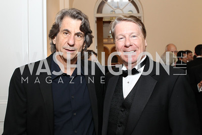 David Rockwell, Chase Rynd. Photo by Alfredo Flores. National Building Museum's Honor Award Gala. National Building Museum. May 17, 2011
