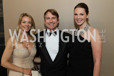 Gigi Webb, Robert Balthaser, Molly Wade. Photo by Alfredo Flores. National Building Museum's Honor Award Gala. National Building Museum. May 17, 2011
