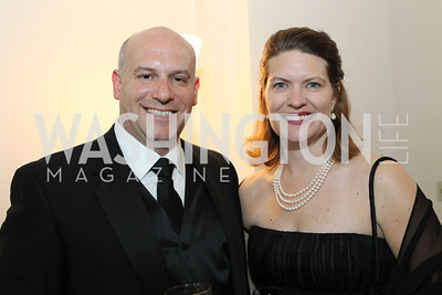 Josh Dix, Jennifer Dix. Photo by Alfredo Flores. National Building Museum's Honor Award Gala. National Building Museum. May 17, 2011