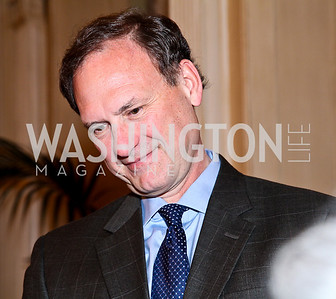 "Justice Samuel Alito. National Gallery ""Canaletto Dinner."" Photo by Tony Powell. Villa Firenze. February 15. 2011"