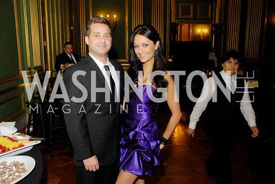 Michael Stevick,Ashley ElmoreNational Kidney  Kidney Foundation Casino Night,February 26,2011,Kyle Samperton