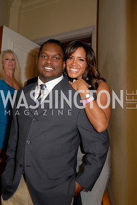 Lavar Arrington,Trishia Arrington,National Kidney Foundation Casino Night,February 26,2011