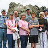 Left to Right - Pat O'Neill, Jan O'Neill, Dick Lauber, Katy Lauber, Kevin Dyball, Connor Dyball, Fran Mullen, Jack Mullen