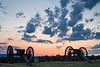 Artillery at Sunset