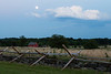 Moonrise over Gettysburg