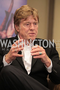 Robert Redford, National Wildlife Federation's 75th Anniversary Gala honoring Robert Redford at Hyatt Regency Capital Hill. Photo by Alfredo Flores. April 13, 2011.
