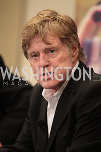 Robert Redford. National Wildlife Federation's 75th Anniversary Gala honoring Robert Redford at Hyatt Regency Capital Hill. Photo by Alfredo Flores. April 13, 2011.