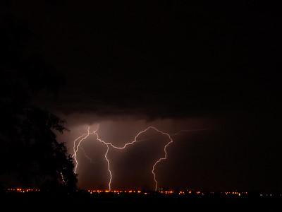 Thunderstorm. The Netherlands.