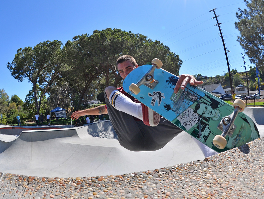 . New San Pedro skatepark located in Peck Park along Western Ave. in SP. (Aug. 15 2014 Photo by Brad Graverson/The Daily Breeze)