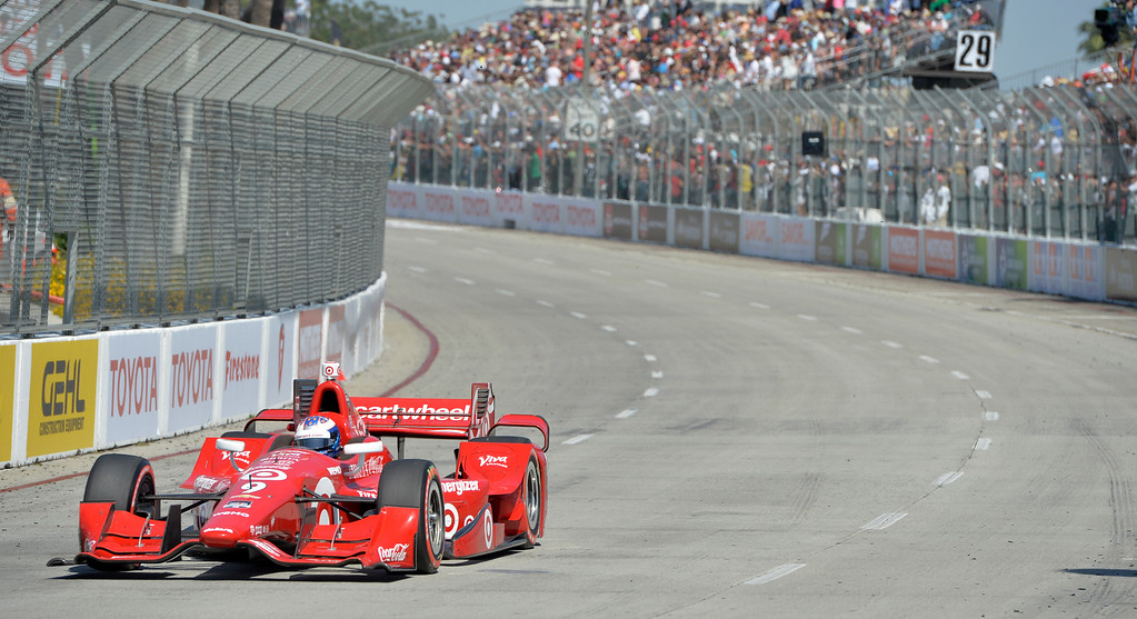 . Toyota Grand Prix of Long Beach in Long Beach CA. Sunday April 19, 2015.  (Thomas R. Cordova-Daily Breeze/Press-Telegram)