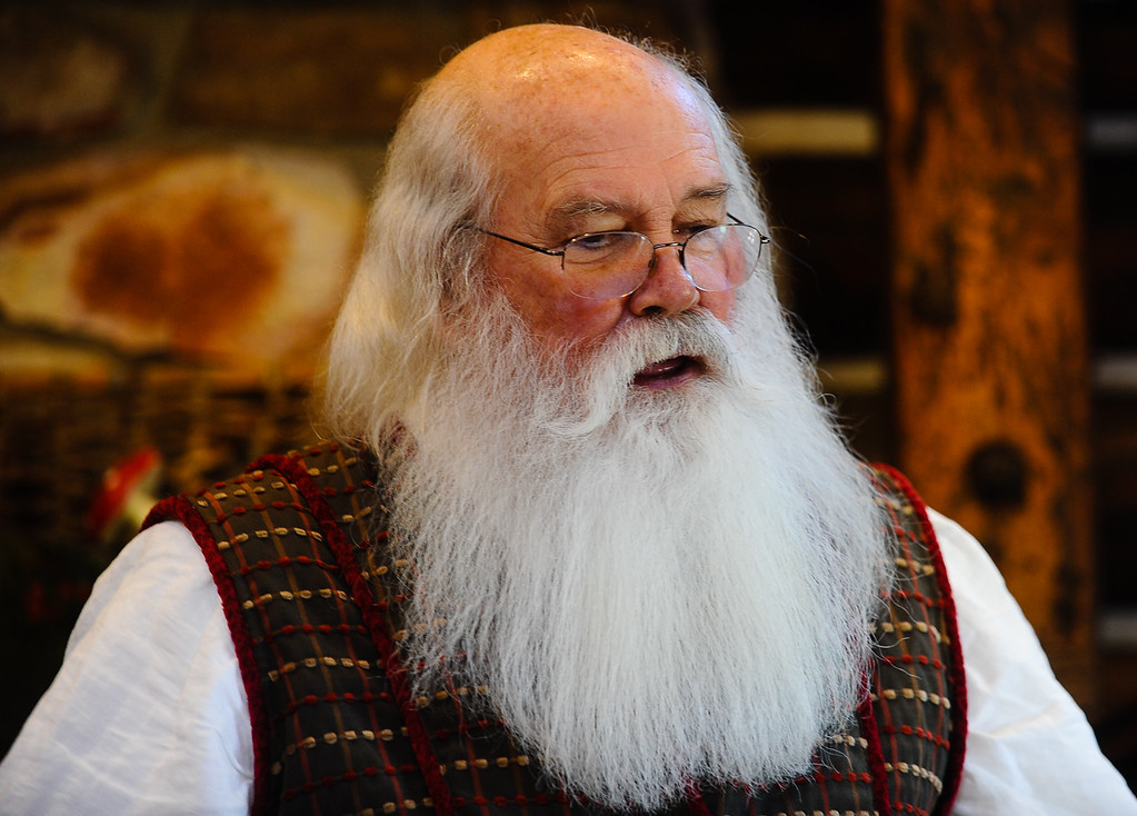 . Santa Claus, played by Bill Priest of Lake Arrowhead, in his home at the new Sky Park at Santa\'s Village in the Lake Arrowhead community of Skyforest, Calif. on Wednesday, Oct. 19, 2016. The amusement park is hoping to be granted the county permit to open and operate the Santa\'s Village portion of the park by Nov. 1. (Photo by Rachel Luna/The Sun, SCNG)