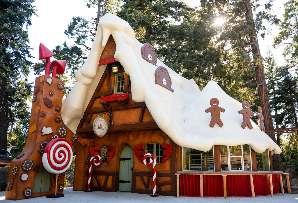 . The finishing construction and design are near completion at the new Sky Park at Santa\'s Village in the Lake Arrowhead community of Skyforest, Calif. on Wednesday, Oct. 19, 2016. The amusement park is hoping to be granted the county permit to open and operate the Santa\'s Village portion of the park by Nov. 1. (Photo by Rachel Luna/The Sun, SCNG)