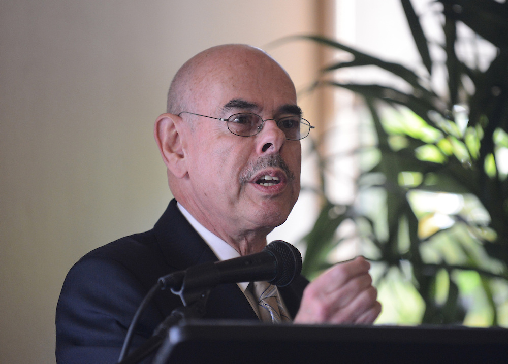 . Henry Waxman, 33rd Cong. District. Candidate\'s forum held at Rolling Hills Country Club. Photo by Brad Graverson 10-11-12