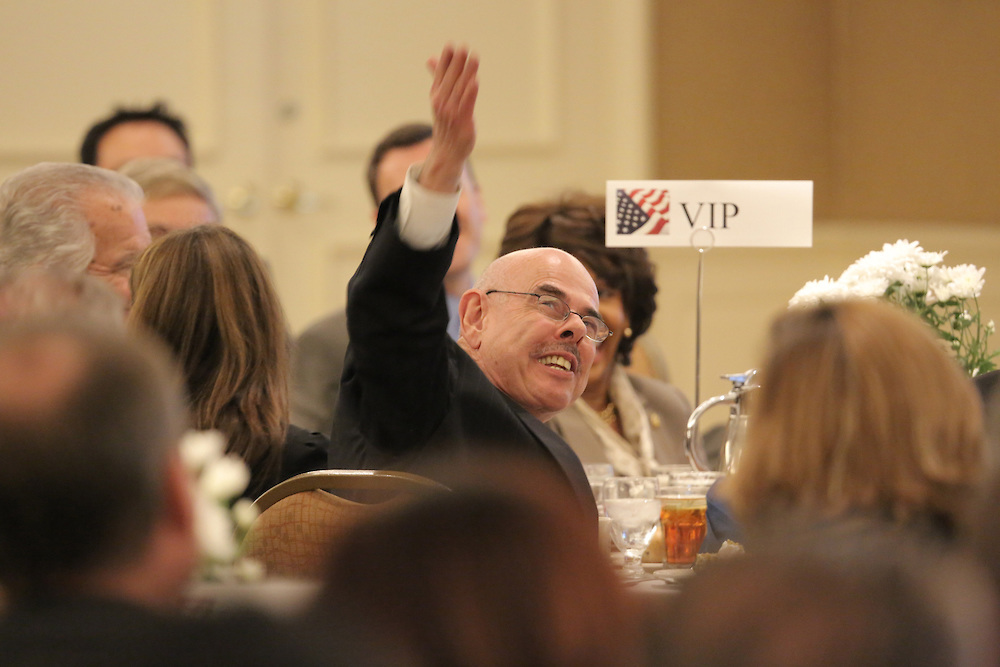 . Congress member Henry Waxman spoke at a State of the Region luncheon Monday in Torrance Monday, Nov. 25th 2013. Chuck Bennett/Staff Photographer