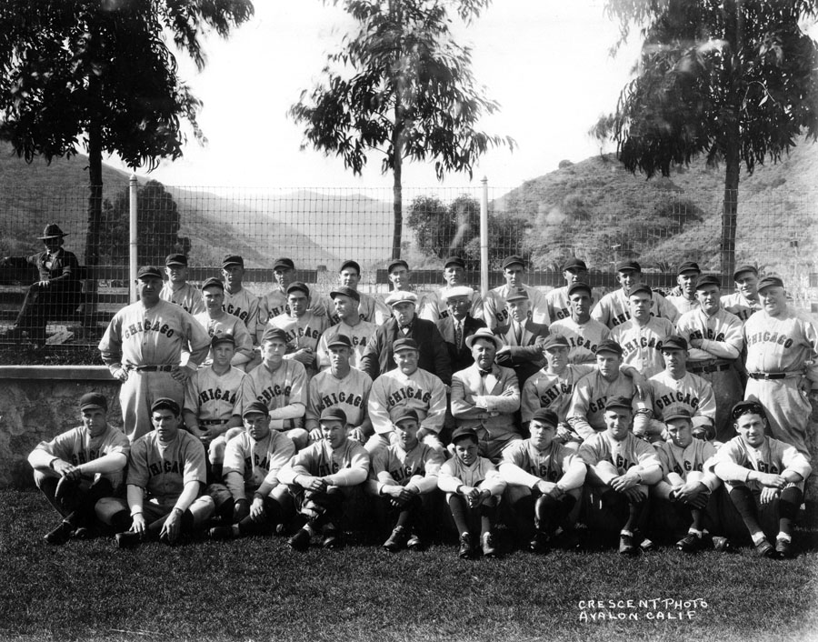 . Chicago Cubs Photo Courtesy Catalina Island Museum