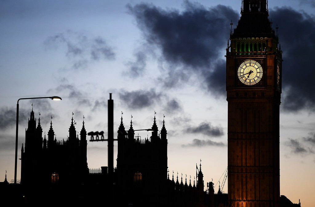 . LONDON, ENGLAND - MARCH 22:  A general view of Elizabeth Tower following a terrorist attack outside the Houses of Parliament on March 22, 2017 in London, England. Four people including a police officer and his attacker have been killed in two related incidents outside the Houses of Parliament and on Westminster Bridge in what Scotland Yard are treating as a terrorist incident.  (Photo by Carl Court/Getty Images)
