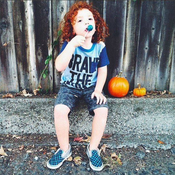 Description of . Ryan Cruz Saldana, 3, was killed after he ran into the street while playing frisbee at his cousins' house in Alta Loma Friday evening. Since the incident, the hashtag #redballoonsforryan has been trending on social media. (Photo courtesy of Alissa Circle)