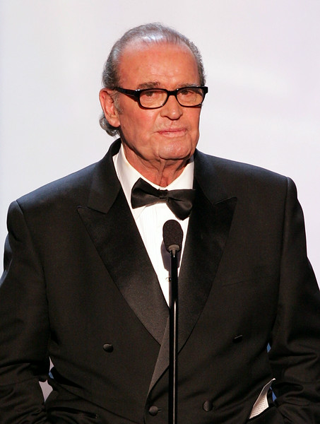 Description of . Actor James Garner speaks onstage during the 11th Annual Screen Actors Guild Awards at the Los Angeles Shrine Exposition Center on February 5, 2005 in Los Angeles, California. Garner died on July 20, 2014. Leave a message to remember Garner: http://bit.ly/GARNERMESSAGE. (Photo by Kevin Winter/Getty Images)