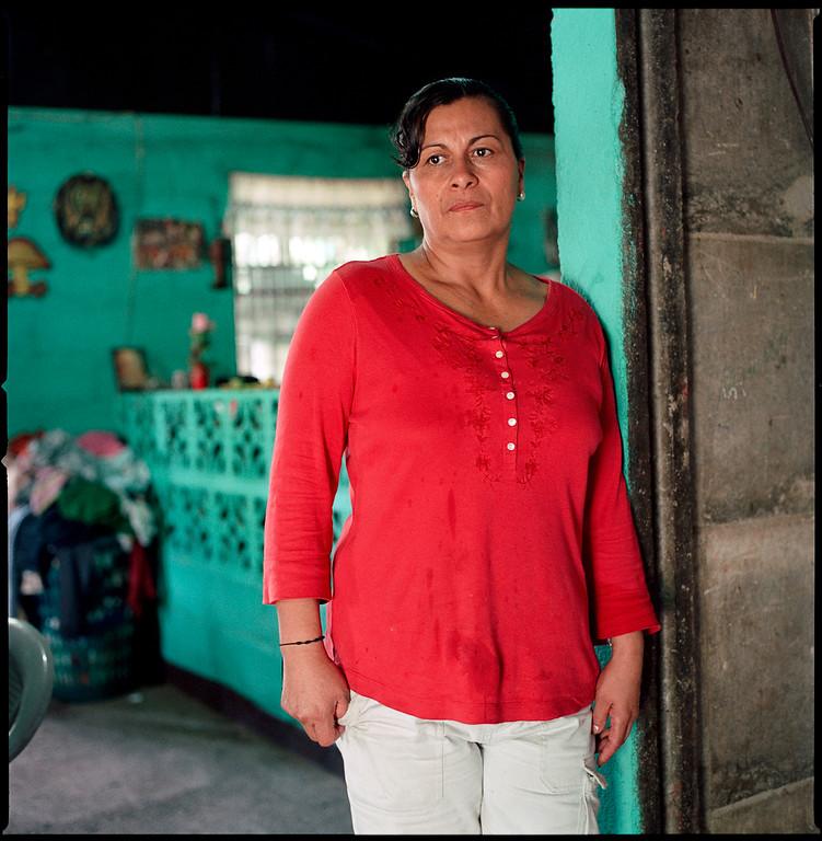 Gloria, El Regadillo, Nicaragua.