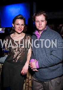 Kirsten Wegner, Brian Quintenz. Nigel Barker Book Party. Photo by Tony Powell. Eden. February 24, 2011