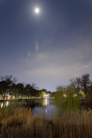 Moon Over Liberty Park