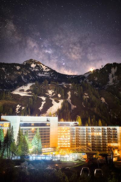 Milky Way over Snowbird