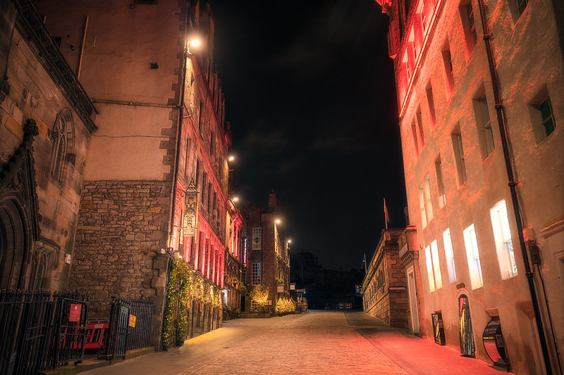 Royal Mile at Night