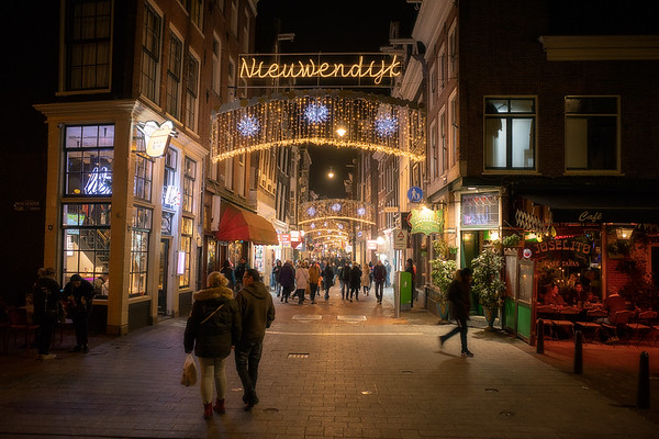 Night Stroll in Amsterdam