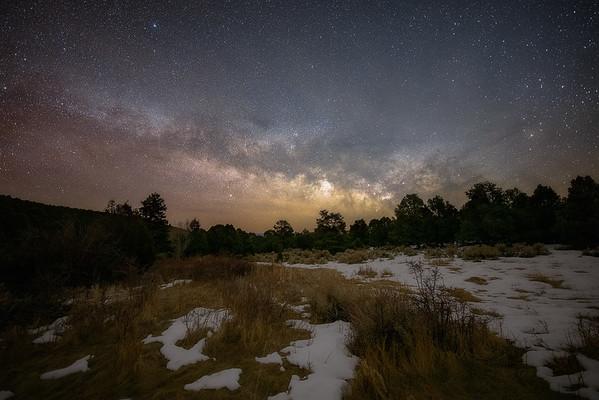 Milky Way near Lehman Caves