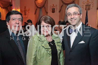 Oscar Morales, Margaret Moran, Thomas Saenz. Noche de Gala. Renaissance Mayflower Hotel Photo by Alfredo Flores.JPG