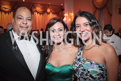 Don Lowery, Monica Gil, Rosemery Portillo. Noche de Gala. Renaissance Mayflower Hotel Photo by Alfredo Flores.JPG