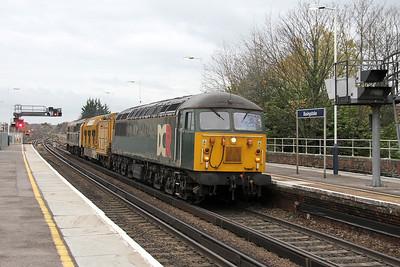 56303 Basingstoke 29/11/13 6Z42 Totton Yard to Doncaster