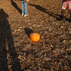 Roll your pumpkins into the lake!