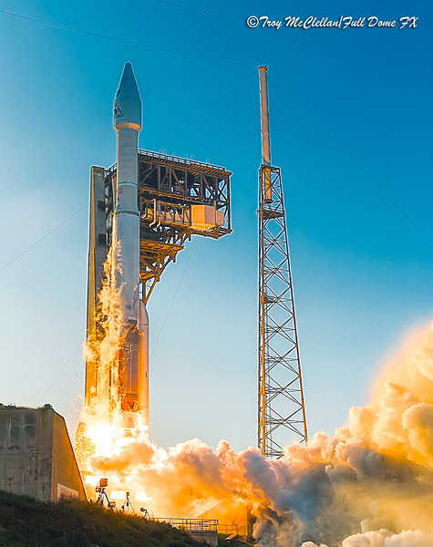 United Launch Alliance Atlas V with OSIRIS-REx Ignition and Liftoff!