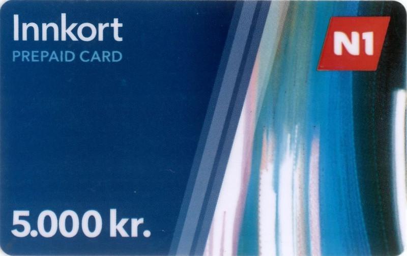 N1 Gas Card