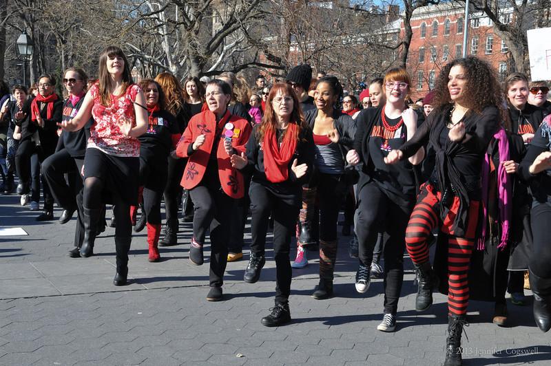 OneBillionRising-Washington Square Park Dance