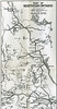 Ontario Official Highway Map 1926.North Eastern Ontario showing gaps in Ferguson Highway then under construction.