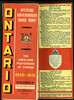 Ontario Official Map 1940. Cover.