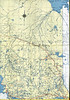 Ontario Official Map 1953. North Eastern Ontario.